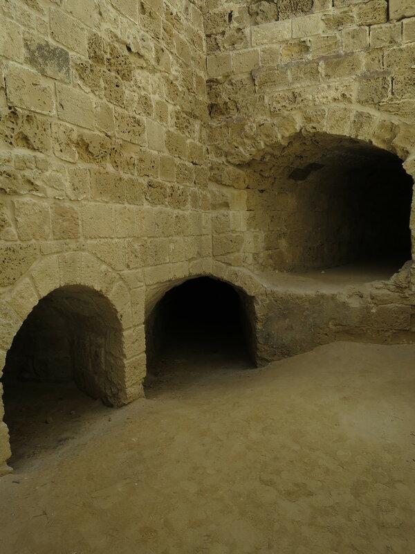 Фамагуста. Крепость. Туннели юго-восточной бастеи