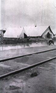 Госпиталь Витебского отделения Красного креста. Палатки