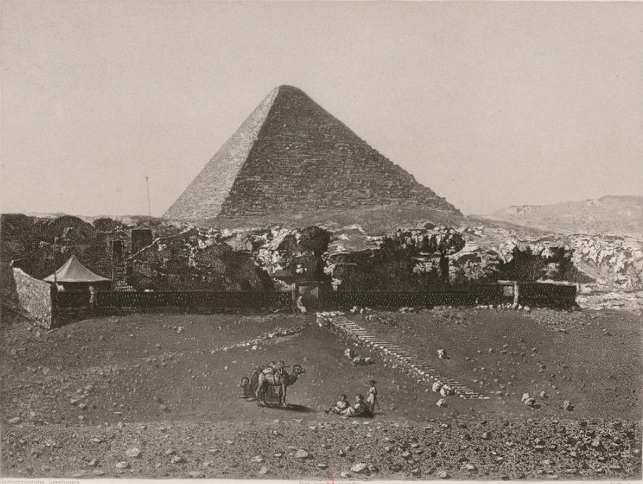 Египет. Гиза. Пирамида Хеопса