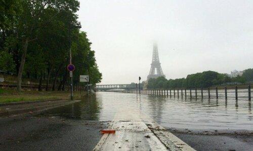 Во Франции из-за наводнений эвакуировано 5.5 тысяч человек