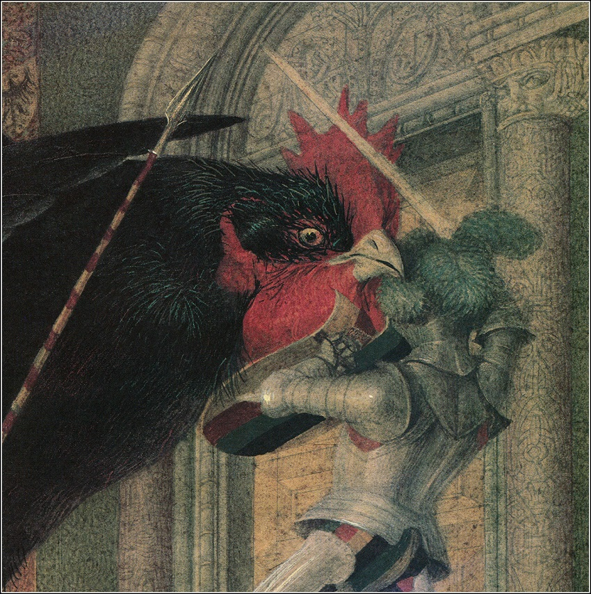 чёрная курица погорельский картинки