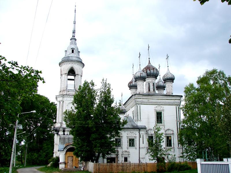 Вологда, церковь Сретения, что на Набережной