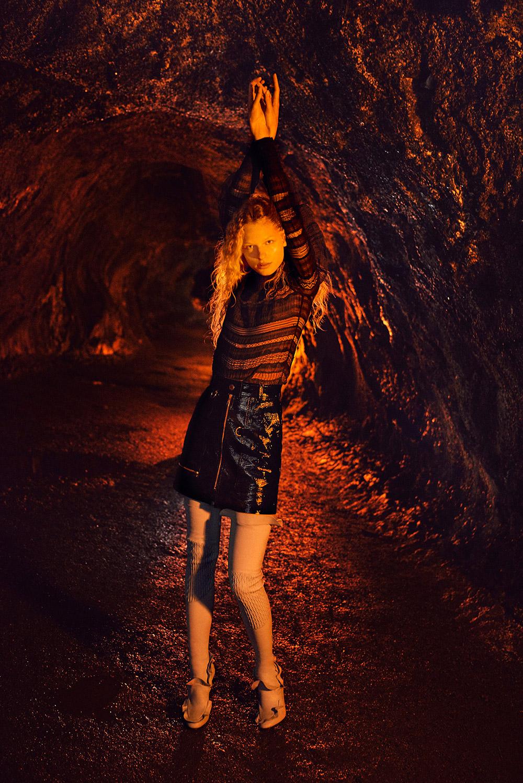 Frederikke Sofie for Vogue China September 2016 Ryan McGinley