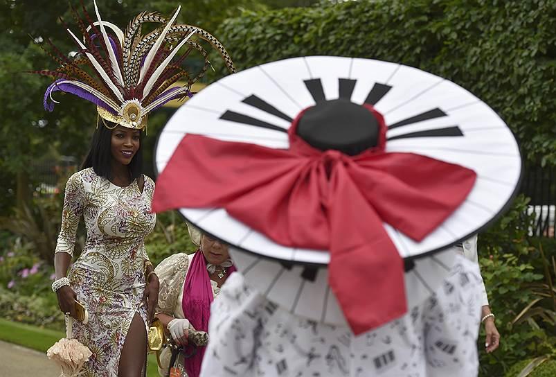 «День леди»: парад шляпок на скачках Royal Ascot 2016 0 165a29 85f6bdb4 orig