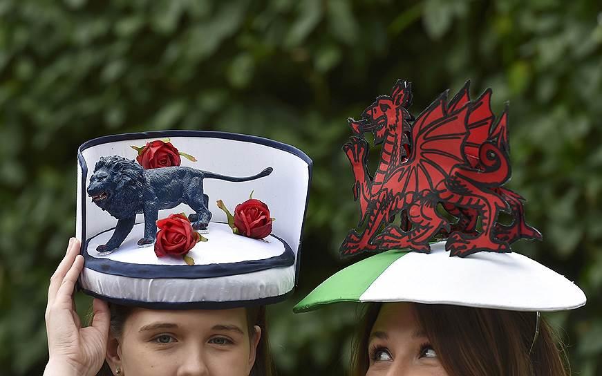 «День леди»: парад шляпок на скачках Royal Ascot 2016 0 165a32 eef17a2e orig