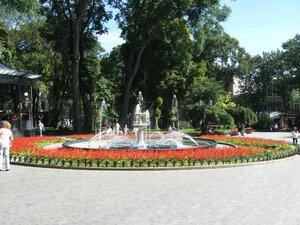 Фонтан в Городском саду в Одессе