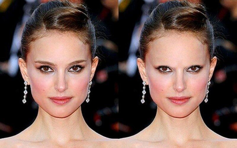 Оказывается, брови меняют наше лицо до неузнаваемости. Фото знаменитостей без бровей