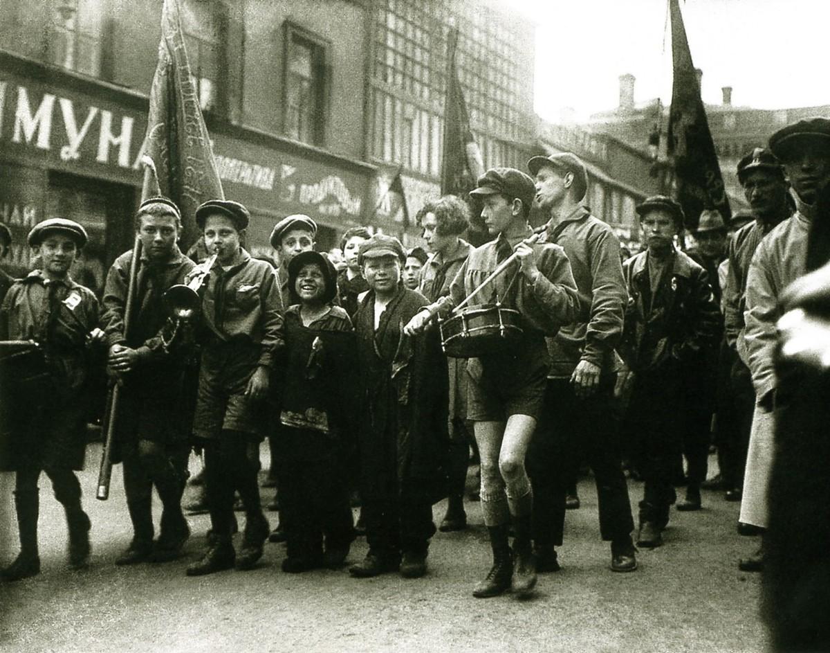 11. 1 мая 1927. Москва