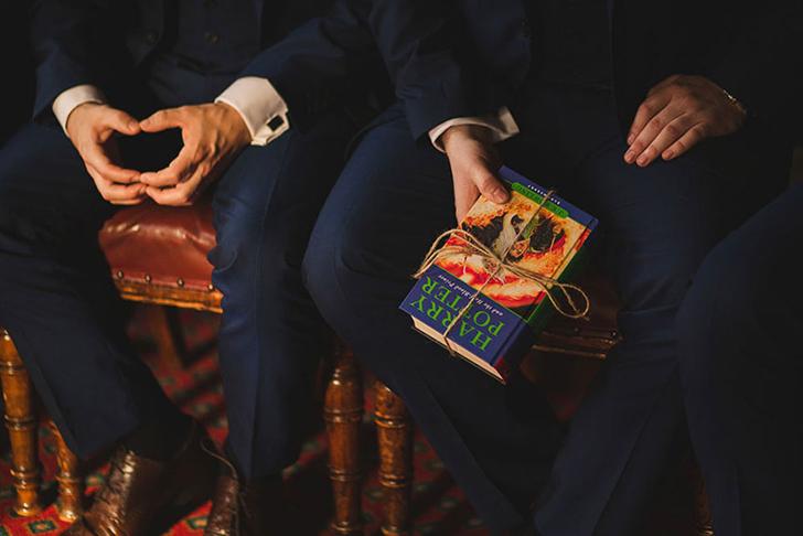 Английская пара сыграла свадьбу в стиле романов о Гарри Поттере