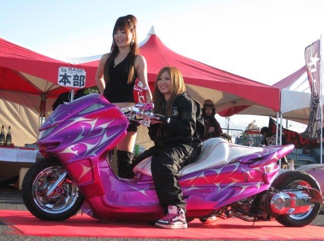 Тюнинг скутеров по японски