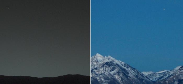 Впечатляющие снимки с двух разных планет Солнечной системы. Фермерские поля в Саудовской Аравии