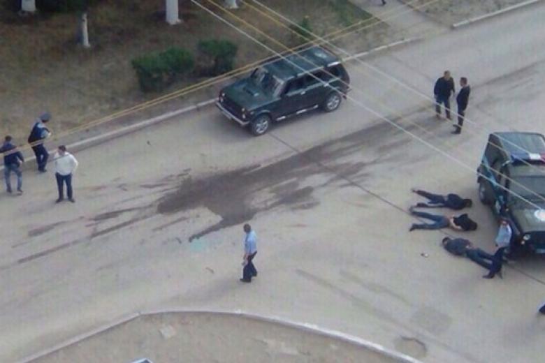 МВД: ВАктобе уничтожены 13 террористов, семеро врозыске
