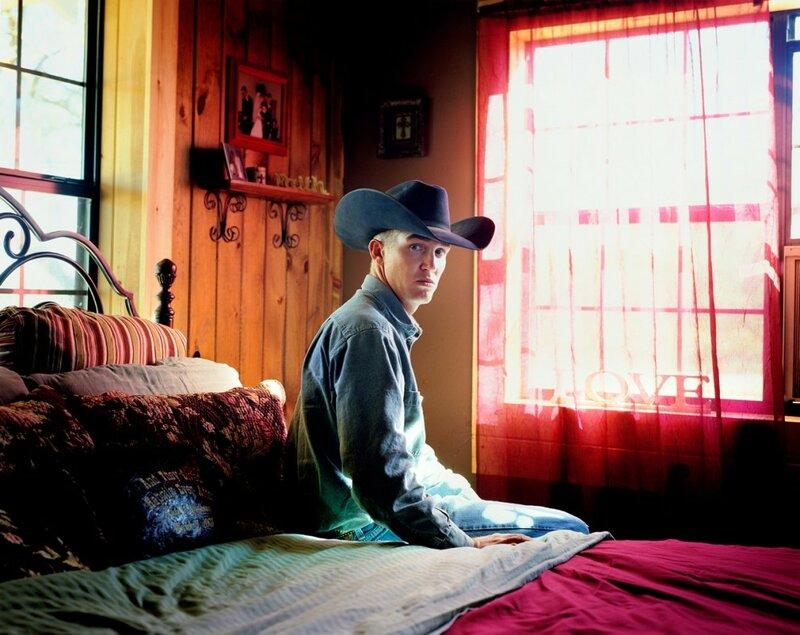 Пэйт Майнер в своей спальне. Бенджамин, штат Техас, 2009 год.