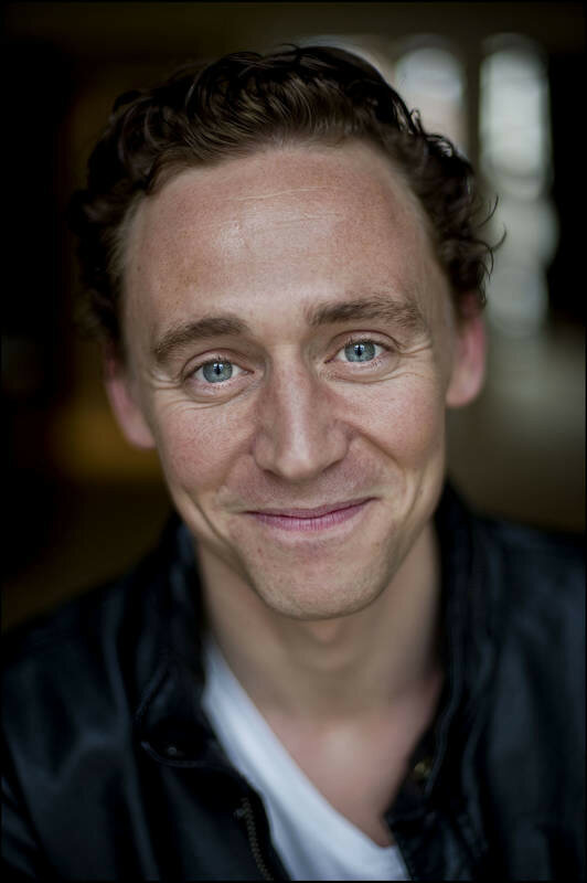 English actor Tom Hiddleston