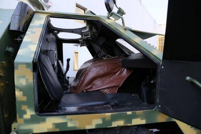 Суровая украинская военная техника