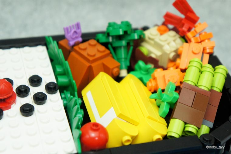 LEGO Food - When LEGO bricks are turned into appetizing creations