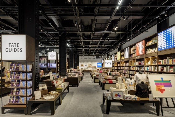 Tate Modern's new shop by UXUS Design