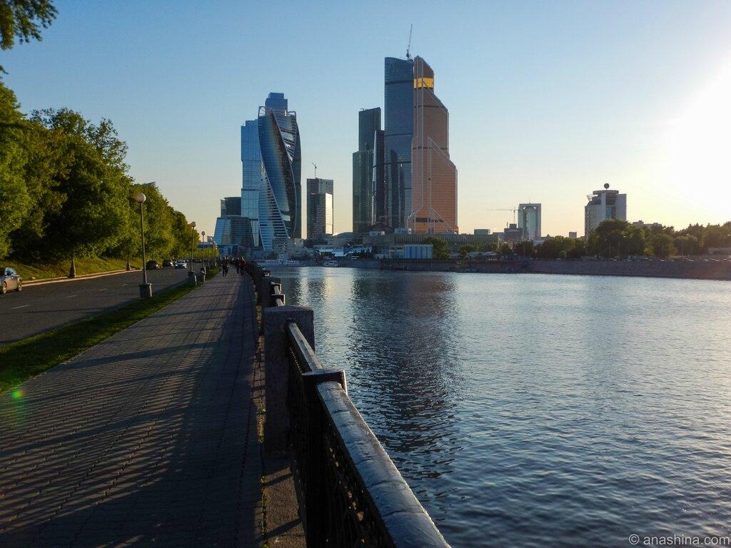 "Панорама комплекса ""Москва-Сити"""