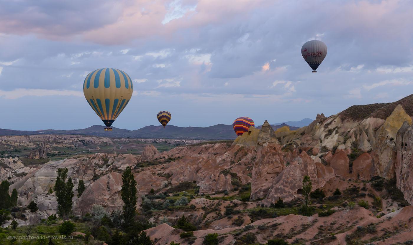Фотография 4. Отзывы о полете на воздушном шаре в Каппадокии. Отчеты туристов о поездке в Турцию. 1/80, -0.33, 8.0, 800, 45.