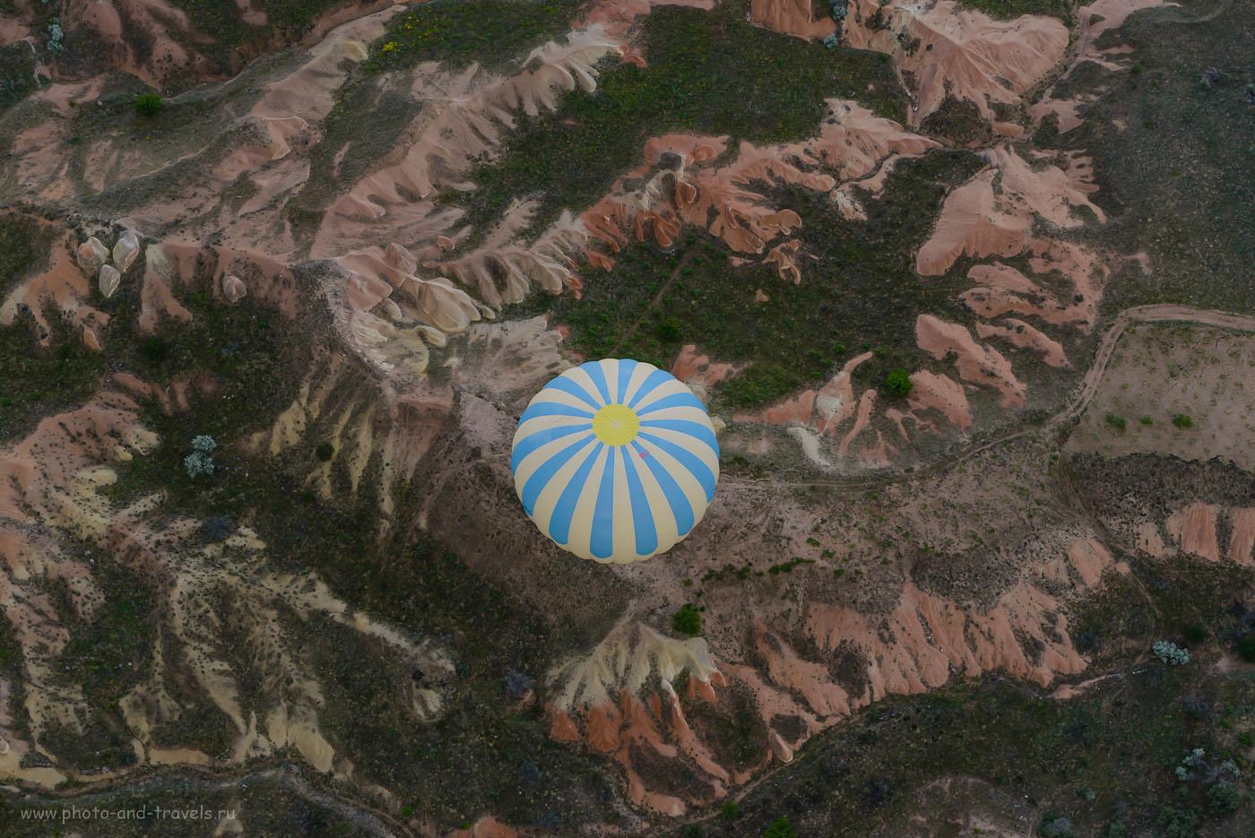 Фотография 13. Воздушный шар. Вид на Каппадокию сверху. Отзывы туристов об отдыхе в Турции самостоятельно. 1/160, -0.67, 8.0, 800, 70.