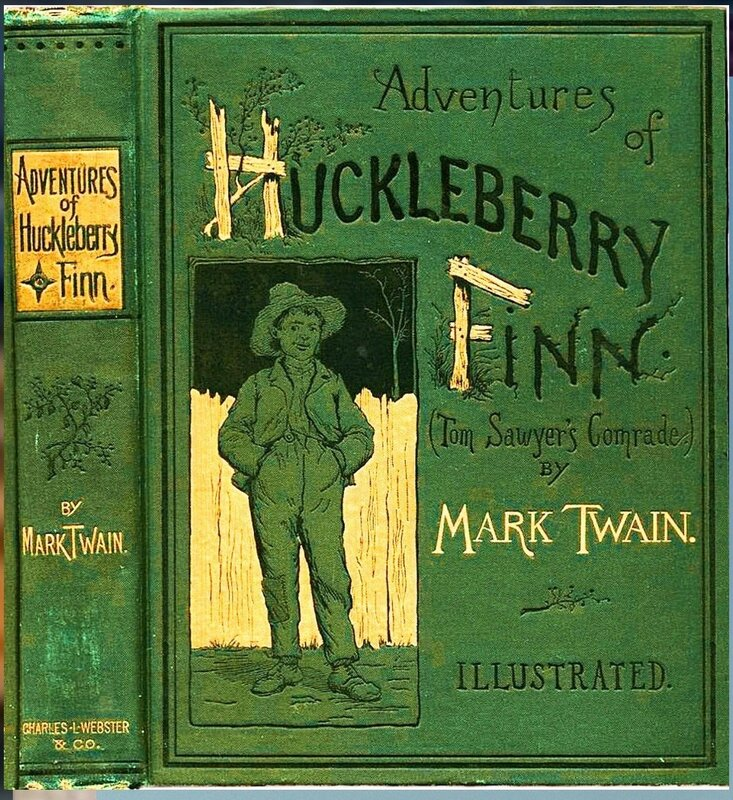 Марк Твен. Huckleberry Finn_book.JPG
