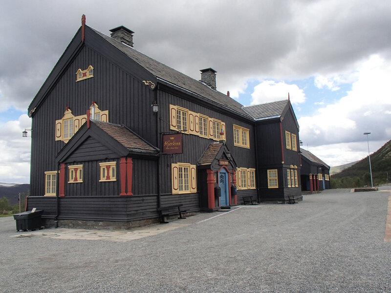 железнодорожная станция Hjerkinn