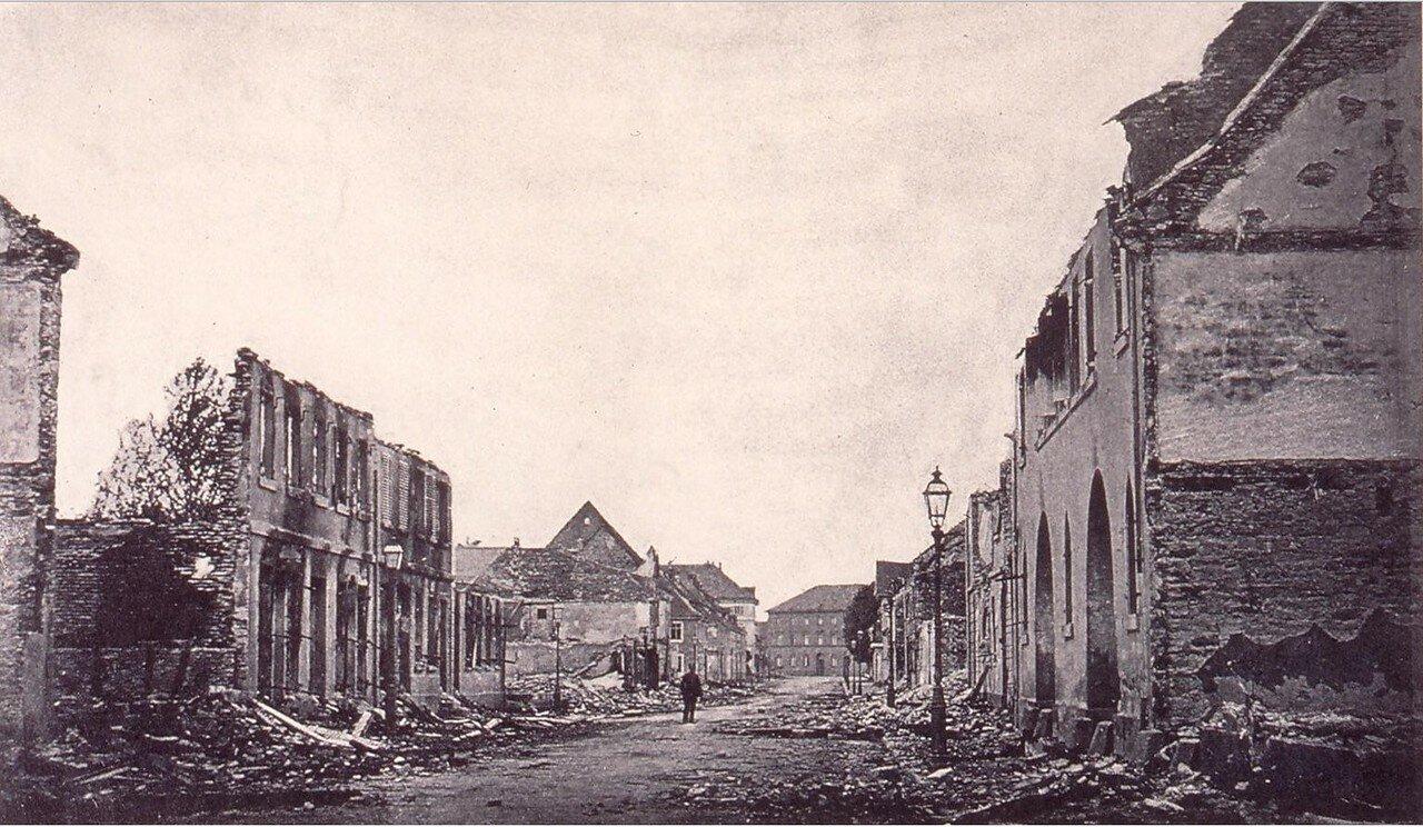 Кель. Главная улица во время войны