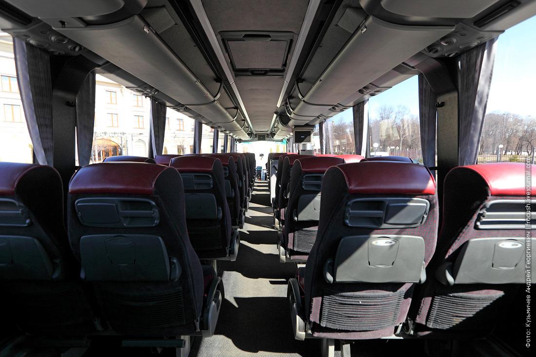 фотография салон автобуса Bova