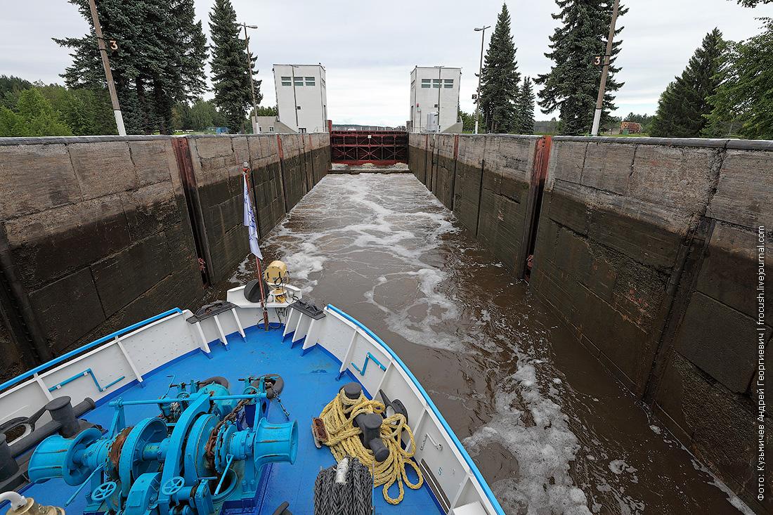 Шлюз №2 Волго-Балтийского канал в составе Белоусовского гидроузла