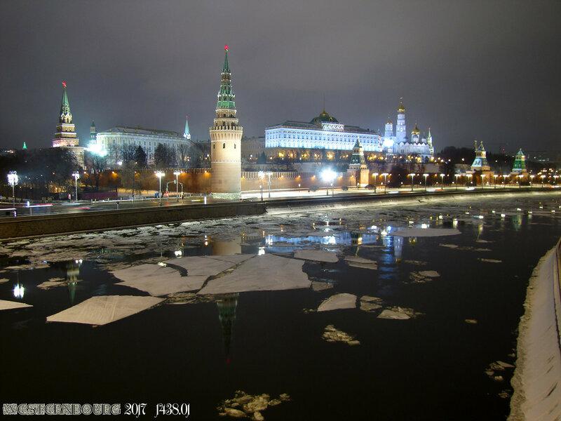 1438.01 Вид на Москву-реку с Большого Каменного моста
