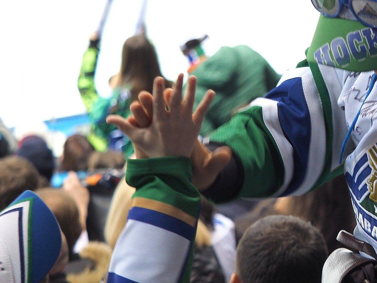 65Плей-офф 2016 Восток Финал Металлург - Салават Юлаев 25.03.2016