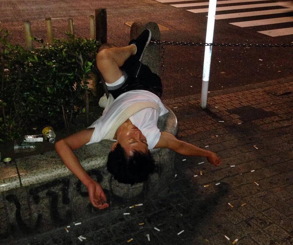 Пьяные японцы в Instagram австралийца