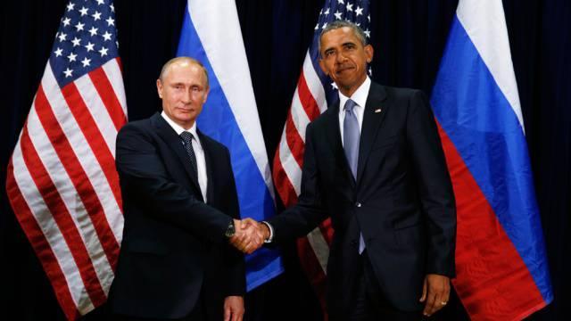 Переговоры Обамы и Путина начались в Китае