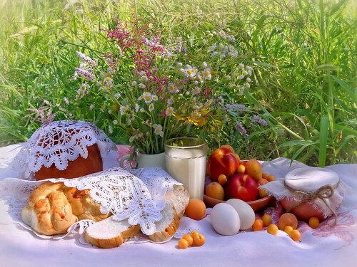 Завтрак по-деревенски