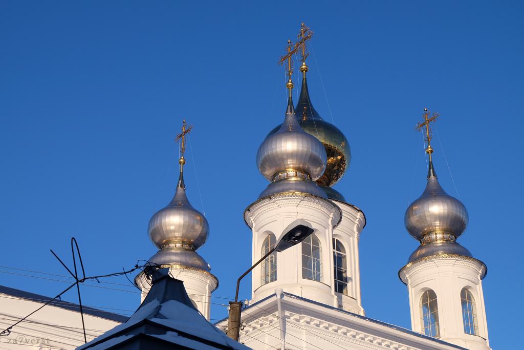 Колокольня Воскресенского собора в Шуе