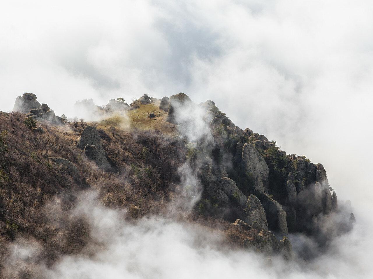 Летающие горы Крыма