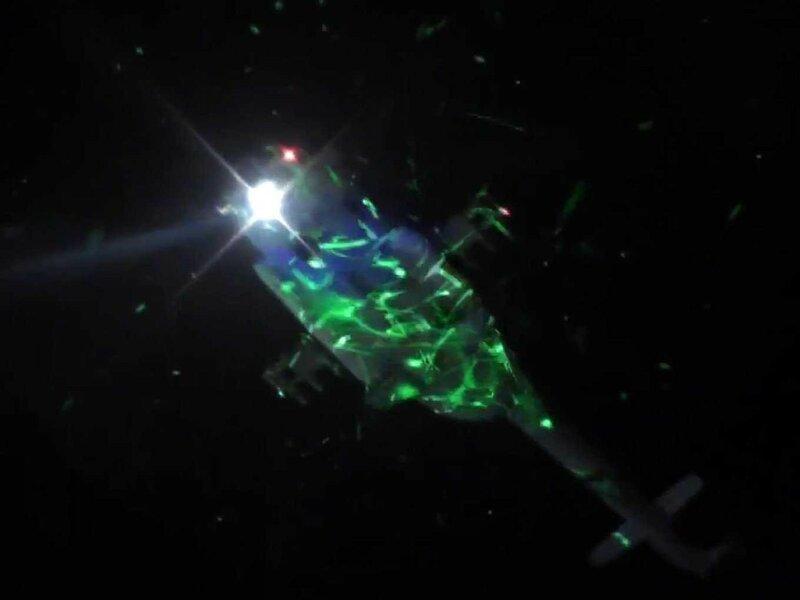 Как египетский вертолет «обстреляли» лазерными указками