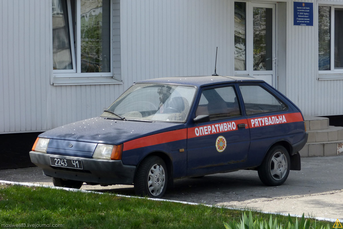 ЗАЗ-110207 «Таврія Нова» — Оперативно-рятувальна МНС