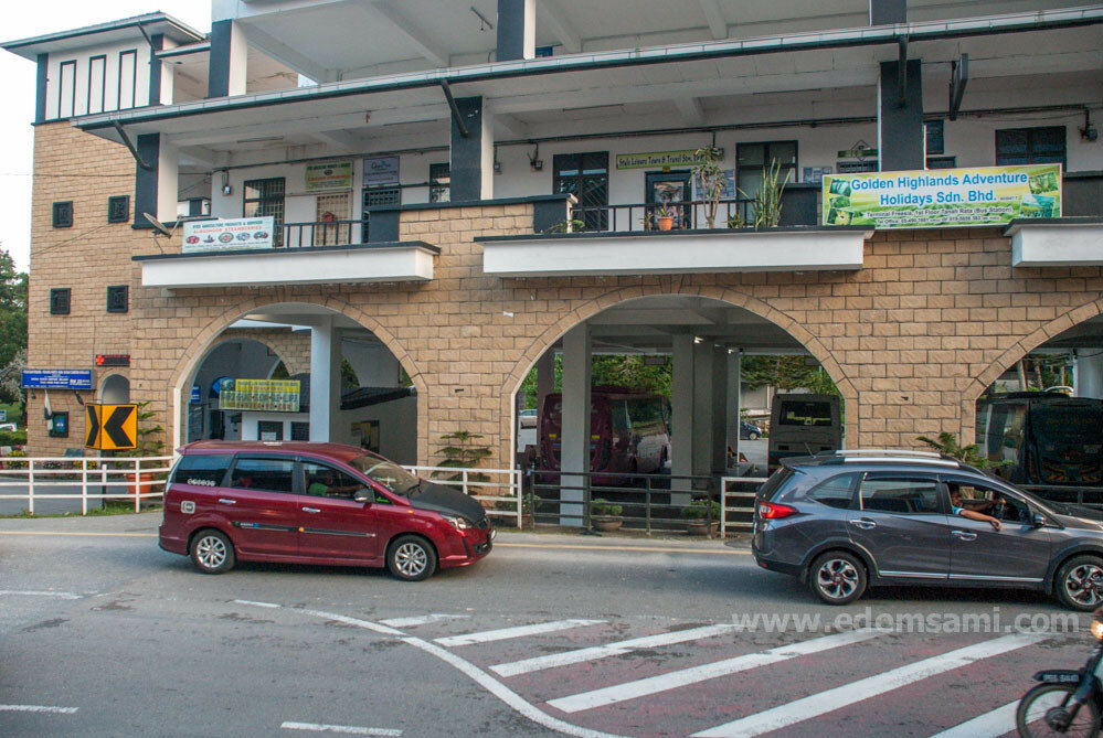 Автовокзал в Тана-Рата