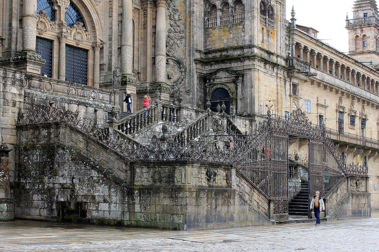 Сантьяго-де-Компостела. Собор Святого Иакова (Catedral de Santiago de Compostela)