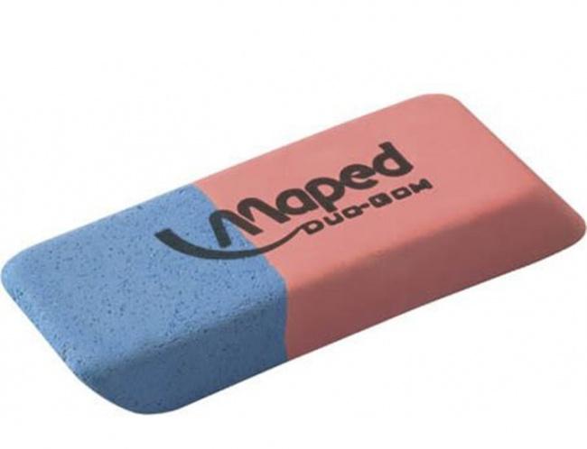 Голубая половина ластика Спросите любого, зачем нужна голубая половинка ластика, и вам наверняка отв