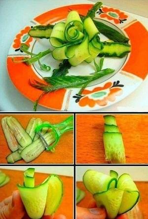 Лук и морковка — идеальные овощи для карвинга.
