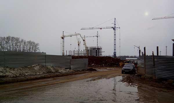 Школа в мкр. Зиновы начала строится ещё до проведения аукциона на земельный участок