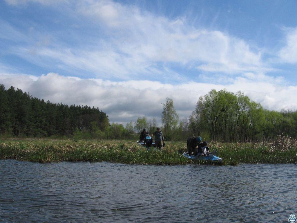 Начало сплава по Боромле