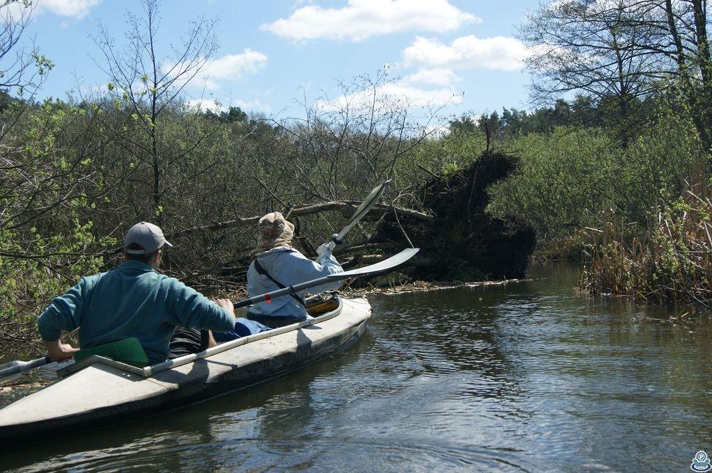 Сплав на байдарке по реке Боромля