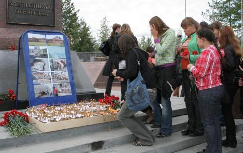 ВНягани почтят память жертв терроризма