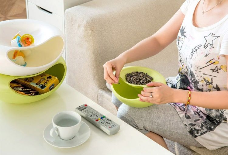 Миска для орехов и семечек