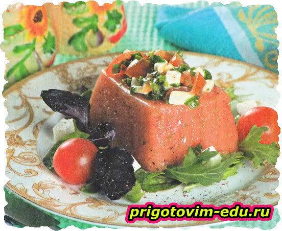 Желе из томатов