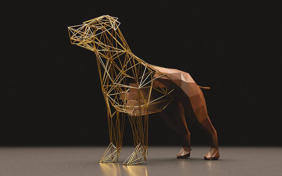 Golden Graphic Creations by VA Designer