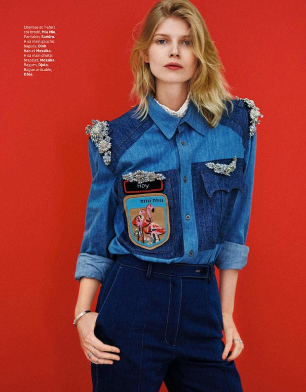 Top model Ola Rudnicka Stars in Grazia France Latest Cover Story